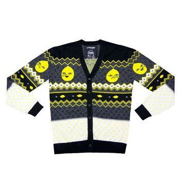 Welovefine:Lemongrab Knit Cardigan