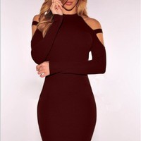 Wine N Dine mini dress