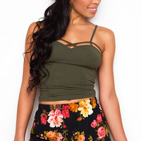 Oh Darling Floral Shorts - Black