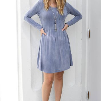 The Perfect Day Denim Washed Dress