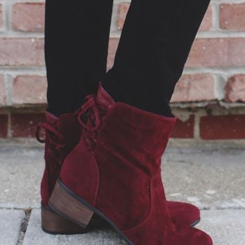 Collins Mid-Calf Boot - Wine