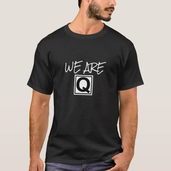 WE ARE Q MEN'S TRUMP QANON T-SHIRT