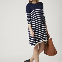 Knitted Stripe Swing Dress - New In This Week - New In