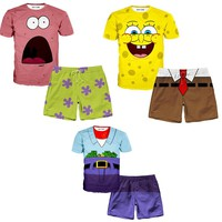 ALL Spongebob T-Shirt And Shorts Rave Outfits
