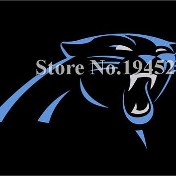 NFL Carolina Panthers Flag New 3x5ft 90x150cm Polyester Flag Banner  2, free shipping
