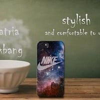 nike just do it galaxy nebula iPhone 5 5c 6 6plus and Samsung Galaxy S5 Case