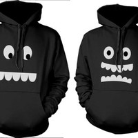 Mr. Right Mrs. Always Right Matching Couple Hoodies