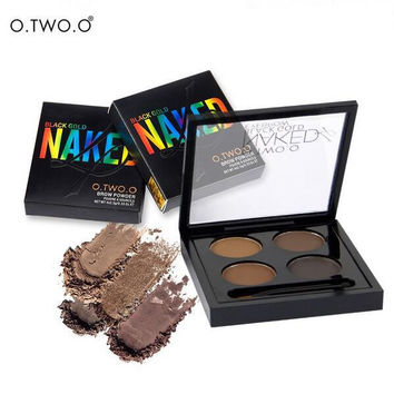 Naked 4 Colors Waterproof Leaf Eyebrow Color [10968518476]