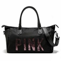 DCCKN7K Victoria's secret Sequin Movement Tourism Yoga package Gym bag