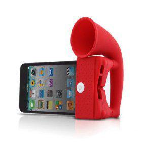 Horn Stand Amplifier Speaker for iPhone 4 [4618] - US$5.40 - China Electronics Wholesale - FlyDolphin.com