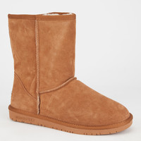 Beach Feet Classic Low Ii Womens Boots Chestnut  In Sizes