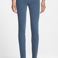 Women's Velvet by Graham & Spencer Low Rise Skinny Jeans (Petrol)