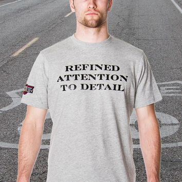 Men's Refined Attention To Detail Graphic T-Shirt