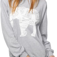 Empyre Elephant Ink Crew Neck Sweatshirt