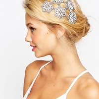 ASOS Wedding Embellished Flower Occasion Hair Clip