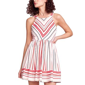 On The Line Striped Dress