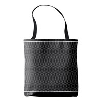BW Heirloom Etching Minor Monogram Tote Bag