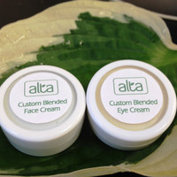 10 Day SAMPLE Duo. Natural, Botanical Face Moisturizer and Eye Cream. Custom Blended Skin Care By AltaSkincare