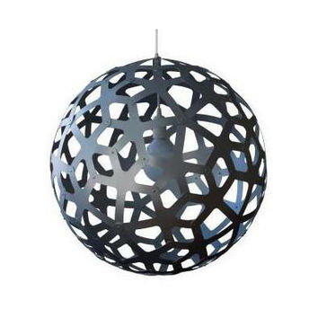 David Trubridge Aluminum Coral Pendant Light