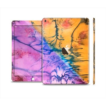 The Vivid Colored Wet-Paint Mixture Skin Set for the Apple iPad Air 2