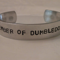 Harry Potter Dumbledore Stamped Custom Silver by Serenitystorms