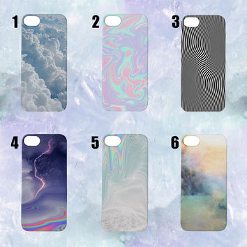 Cute Colourful iPhone Cases | iPhone 4/5/6 | Tumblr Cute Cool Kawaii Seapunk Clouds Colours *ON SALE*