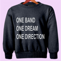 One Band One Dream One Direction Crewneck