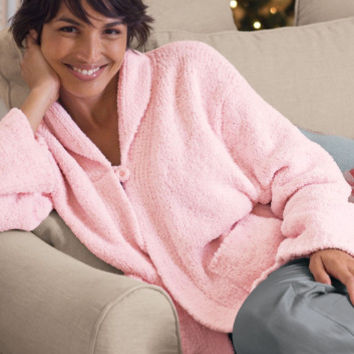 Snuggle Topper - Top Rated Bed Jacket, Relaxed Fit Sweater | Soft Surroundings