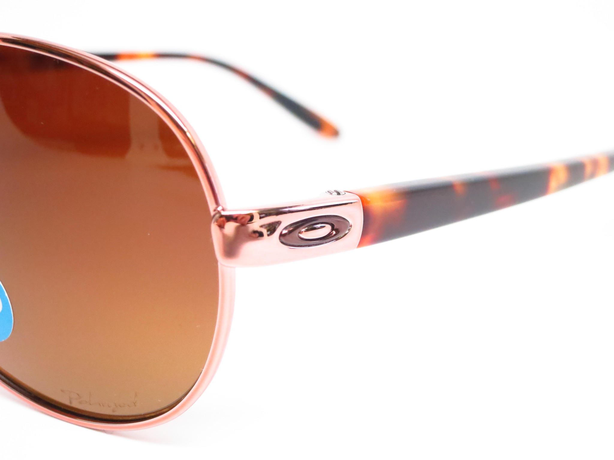 c078fc9c63 Oakley Tie Breaker OO4108-04 Rose Gold from eyeheartshades.com