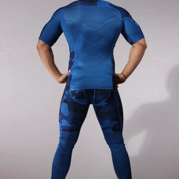 Brand New thermal underwear men underwear sets compression fleece sweat quick drying thermo underwear men clothing