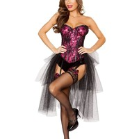 Roma Costume 4826 - 3Pc Burlesque Girl