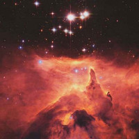 War and Peace Nebula NASA Hubble Image Poster 24x36