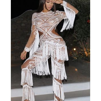 2551122d1436 Best Fringe Jumpsuit Products on Wanelo