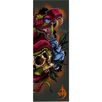 ROYM Golden Skull Beach Towel