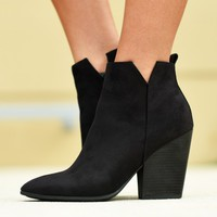Smooth Strut Booties | Monday Dress Boutique