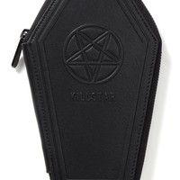 """Casey"" Coffin Wallet by Killstar (Black)"