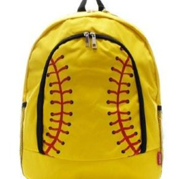 Softball Print #2 Backpack