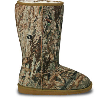 Women's Mossy Oak 13-inch Boots - Duck Blind