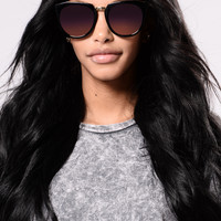 Jamie Sunglasses - Black/Purple