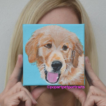 Dog art, Dog Paintings, Custom Pet Portraits, Pet Portraits