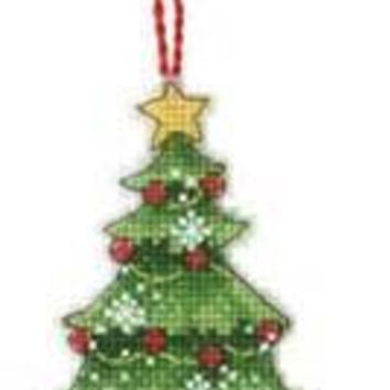 Counted Cross Stitch Kit Christmas Tree Ornaments DIM 08898 8898