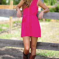 The Hadley Tunic: Hot Pink | Hope's