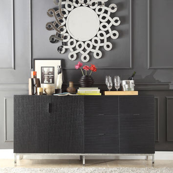 INSPIRE Q Bensley Espresso Finish Server & Media Console | Overstock.com Shopping - The Best Deals on Buffets
