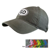 Grateful Dead - Oval Cap on Sale for $19.99 at HippieShop.com