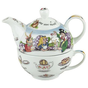 Alice in Wonderland Tea for One