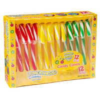 Lemonhead and Friends Assorted Candy Canes: 12-Piece Box