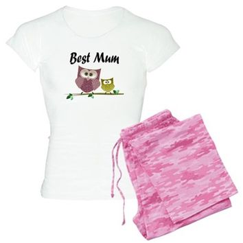 Best Mum Women's Dark Pajamas