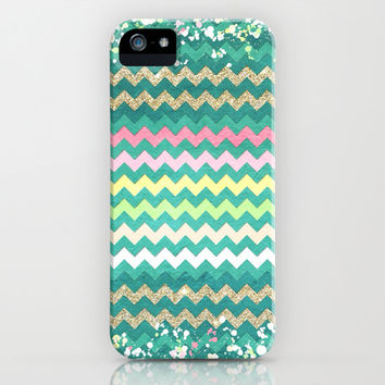Chevron Dream II - for iphone iPhone & iPod Case by Simone Morana Cyla