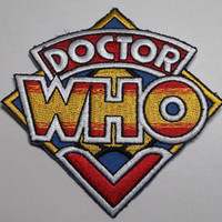Doctor Who Original British TV Series LOGO PATCH
