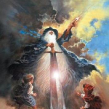 Lord Of The Rings Movie Poster Standup 4inx6in